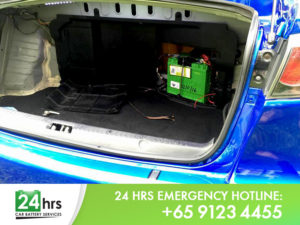 Mitsubishi Lancer Evolution X Car Battery Replacement Singapore